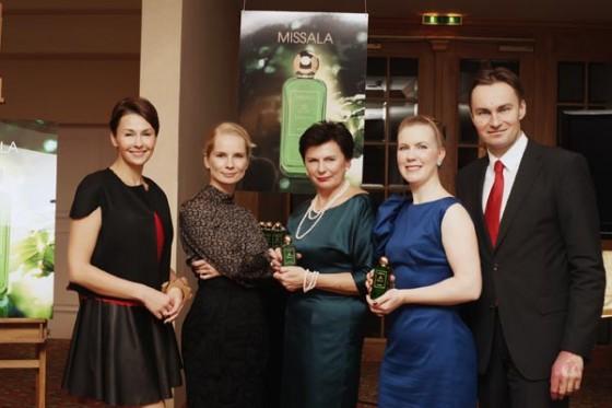 Anna Popek, Magdalena Cielecka oraz Stanisława, Joanna i Michał Missalowie na premierze perfum Missala Qessence