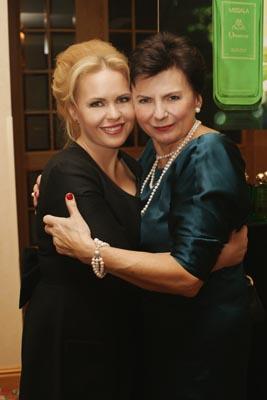 Magdalena Stużyńska i Stanisława Missala na 20. urodzinach Perfumerii Quality i premierze perfum Missala Qessence