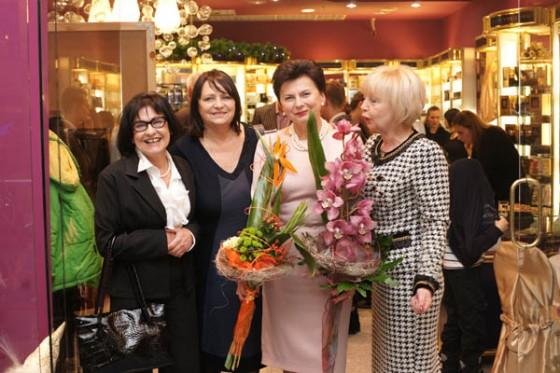 Stanisława Missala z właścicielkami wiodących polskich perfumerii na 20. urodzinach Perfumerii Quality i promocji perfum Missala Qessence