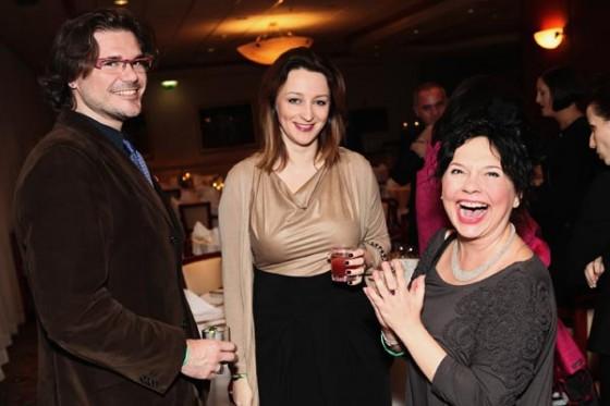 Ewa Wojciechowska i Fiolka Najdenowicz na 20. urodzinach Perfumerii Quality i premierze perfum Missala Qessence