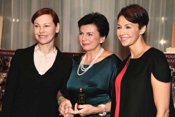 Stanisława Missala z Oleną Leonenko i Anną Popek na 20-leciu Perfumerii Quality i inauguracji perfum Missala Qessence