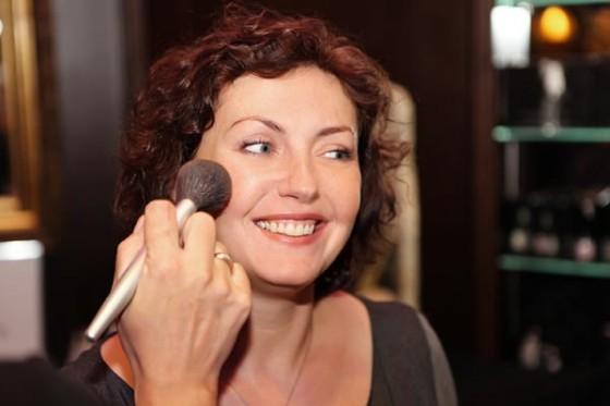 Pokaz makijażu T. LeClerc podczas 20. urodzin Perfumerii Quality w hotelu Marriott