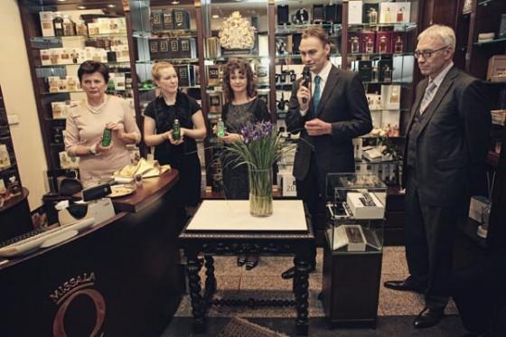 Prezentacja zapachu Missala Qessence w Perfumerii Quality przy hotelu Marriott