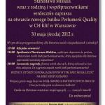 Otwarcie Quality w warszawskim Klifie