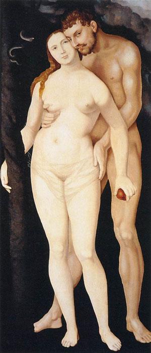 Baldung-Grien-Hans-Adam-and-Eve-1531-Museo-Thyssen-Bornemisza-Madrid-www