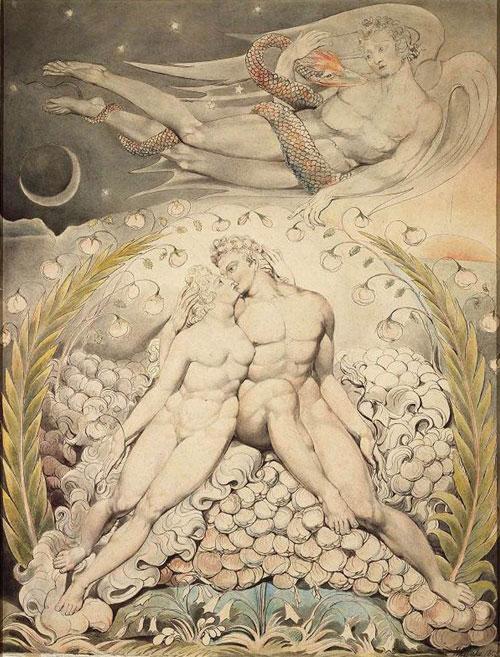 Blake-William-Satan-Watching-the-Caresses-of-Adam-and-Eve-1808-Museum-of-Fine-Arts-Boston-www