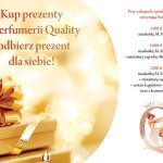 Prezentowe atrakcje w Perfumerii Quality!