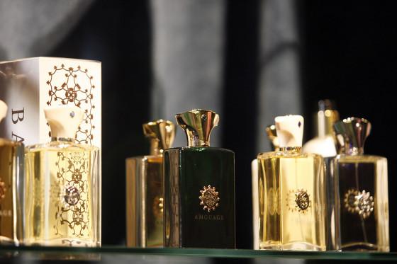 Wieczor luksusowych zapachow Amouage w salonie Vinicio Pajaro