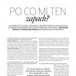 Stanisława Missala i Michał Missala w rozmowie o melodii i poezji zapachów