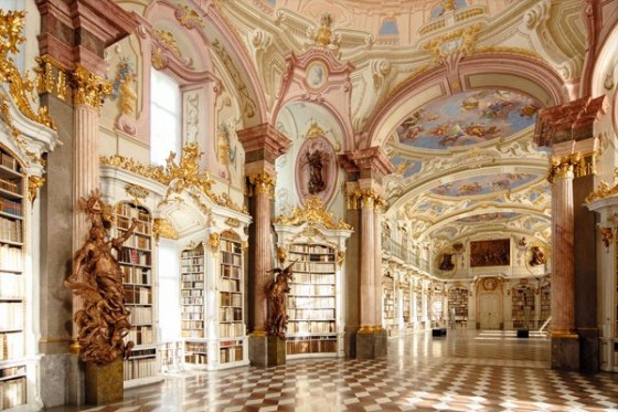Abbey Library in Admont Austria