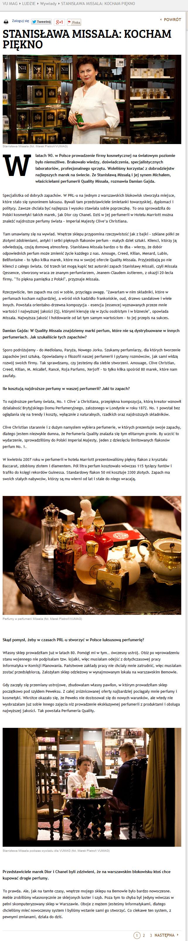 2014.06.22_vumag.pl_wywiad ze Stanisławą Missalą (1)