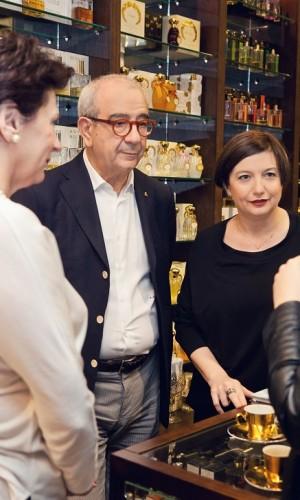 Roberto Marabese, brand manager Nebu Milano i Cristina Giorgetti, wizażystka marki1