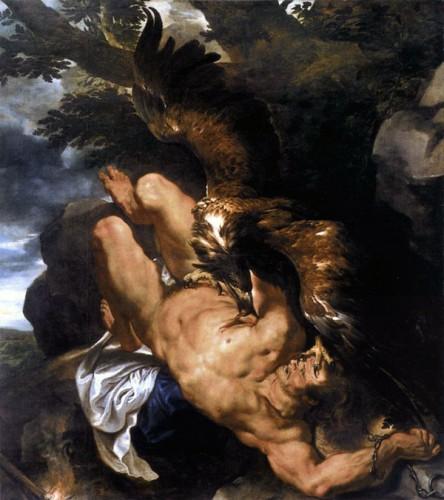 Peter-Paul-RUBENS,-Prometheus-Bound,-Museum-of-Art,-Philadelphia