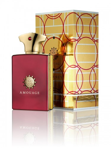 AMOUAGE Journey Man 100ml EDP_bottle&box&reflection