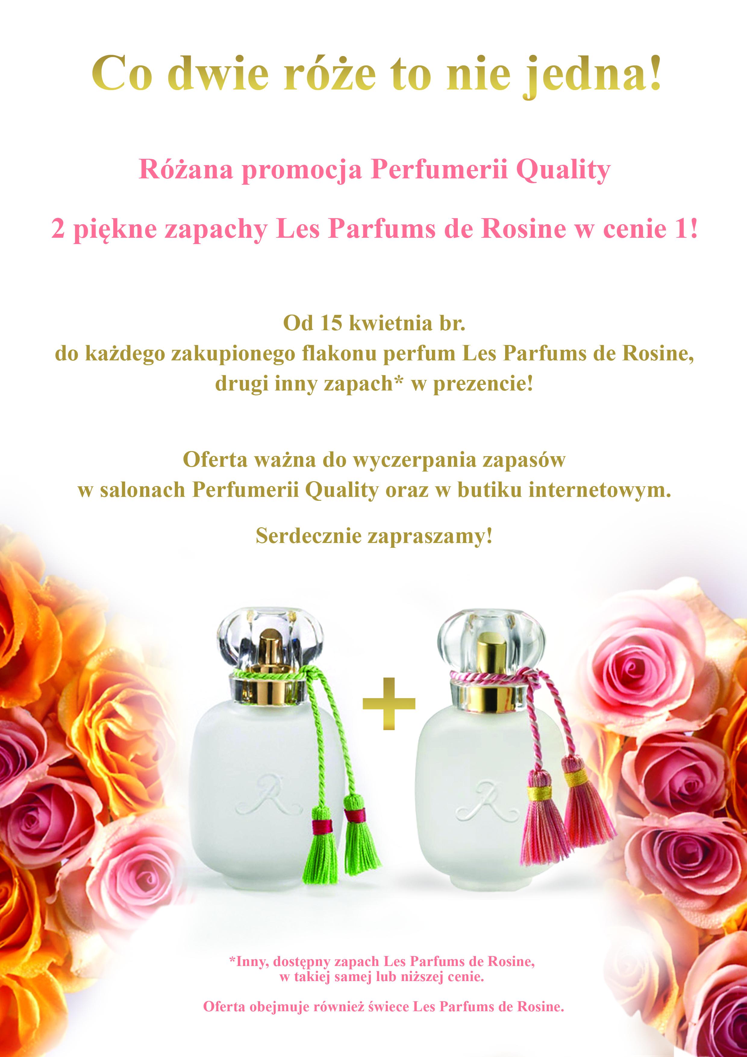 Promocja Les Parfums de Rosine_A4 dla perfumerii