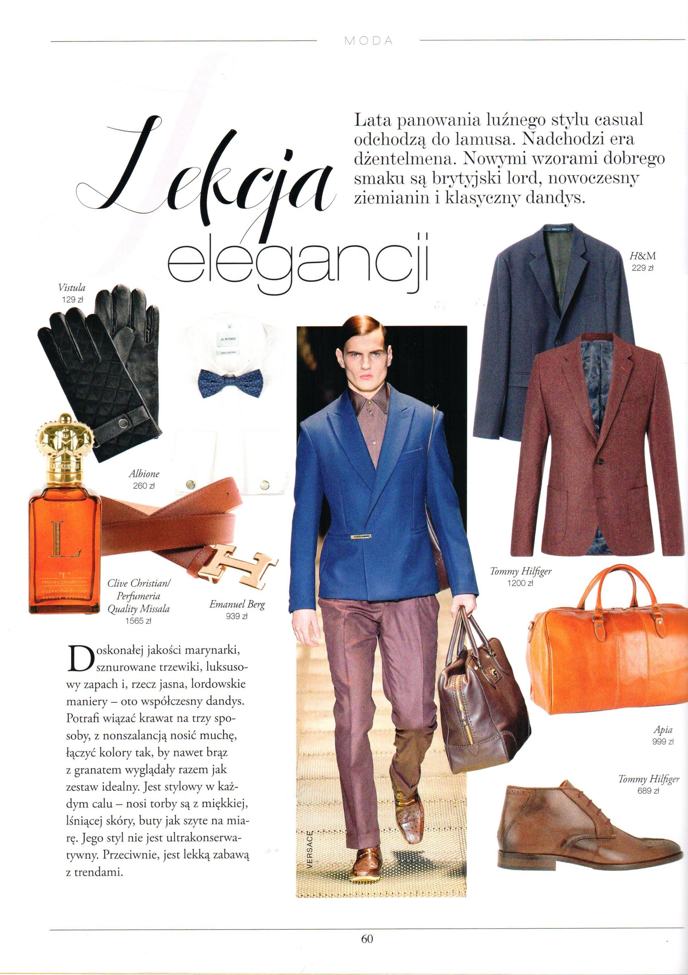 2015 Magazyn Klif Jesień_CLIVE CHRISTIAN L for Men
