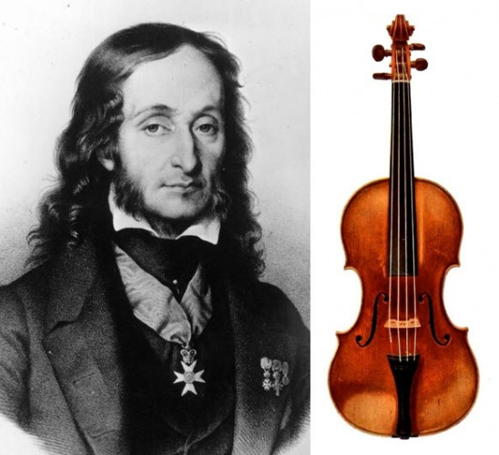 Paganini+skrzypce