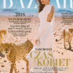 Miodowe kosmetyki Valmont w Harper`s Bazaar
