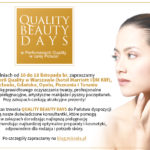 10-18 listopada: QUALITY BEAUTY DAYS!