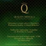 Zapraszamy na otwarcie nowej Perfumerii Quality!